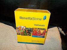 Rosetta Stone Portuguese Levels 1, 2, and 3 Nib