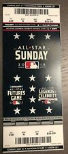 2018 MLB All Star Futures Game Full Ticket Stub
