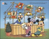 Grenada 1991 Disney/Mickey/Minnie/Cartoons/Animation/StampEx 1v m/s (s6146)
