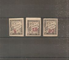 STAMP INDOCHINA INDOCHINA 1905 TAX N°2/4 NEW( ) NO. GUM CHINA CHINA