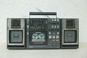 GHETTOBLASTER  SONY CFS  9900  TRAGBARE STEREO RADIORECORDER ANLAGE