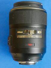 Nikon AF-S Micro Nikkor 105 mm 1:2.8 G ED Lens