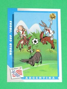 1994 WORLD CUP LOONEY TOONS USA SOCCER PROMO TYCO ACTION FIGURE #18 INSERT CARD