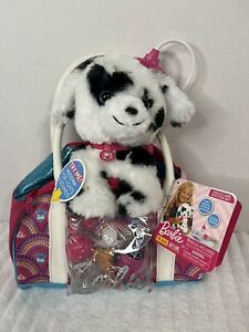 Barbie Pet Kiss & Care Doctor Set 9pc Mattel With Puppy NEW Sounds & Lights Up