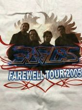 The Eagles - 2005 Farewell Tour Concert T- Shirt (Large)