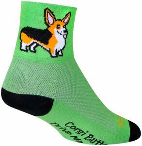 SockGuy Classic Ernie Socks | 3 inch | Green | L/XL