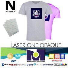 Heat Transfer Paper Laser 1 Opaque Dark Shirt Heat Press Machine 85x11 50 Pk