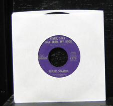 "Frank Sinatra - River, Stay 'Way From My Door VG+ 7"" Vinyl Record Capitol 4376"