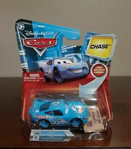 Disney Pixar Cars Dinoco Lightning McQueen With Celebrity Signature Chase