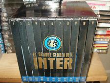 BOX COFANETTO 11 DVD LA GRANDE STORIA DELL'INTER INTERNAZIONALE FC CALCIO