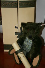 Steiff Harrods Musik Bär von 1995 • KFS 653148 • 44 cm • OVP • Musical Bear