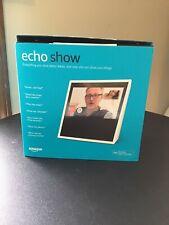 Amazon Echo Show Smart Assistant 1st Generation White