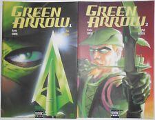 Comics : Lot de 2 Green Arrow ( Semic ) n° 1 et 2 série complète