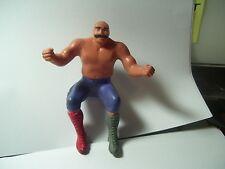 """Vintage"" The Iron Sheik WWE Thumb Wrestling Action Figure 1985"