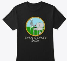 Day of the Dad - Skeleton with Mask - Grilling Dad, Surfer, Bicycle Dad Hot Gift