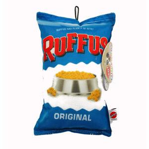 "FUN FOOD CHIPS RUFFUS 8"" PLUSH TOY"