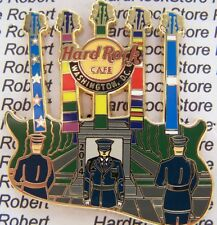 2014 HARD ROCK CAFE WASHINGTON DC TOMB OF THE UNKNOWN SOLDIER/SVC RIBBONS LE PIN