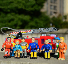 Fireman Sam figures Elvis, Steele, Sam, Dilys, Helen, Norman, Tom Thomas,Penny