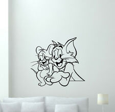 Tom and Jerry Wall Decal Cartoon Vinyl Sticker Nursery Decor Art Poster 208zzz