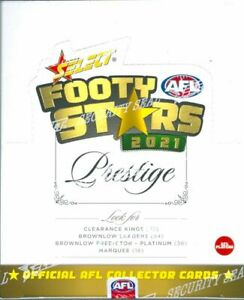 2021 AFL SELECT Footy Stars Prestige Unsearched Factory Sealed Box Express Post