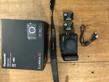 Panasonic LUMIX DMC-GX8 - Black (Body Only) - 2 Batteries, W/ Box
