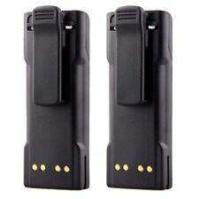 2x 2100mAh 7.4V Ntn7143 Ntn7144 Battery ft Motorola Ht1000 Mts2000 Mt2000 Radio