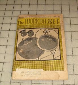 The WORKBASKET (Sept 1962) Mini Magazine #12 Vol 27