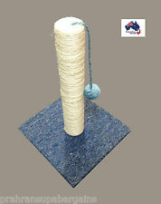 Cat Scratch Post Sisal Post With Swinging Ball On String