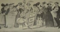 AGE OF BRASS The Triumphs of WOMANS RIGHT Suffrage Movement Currier & Ives Print