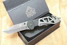 PUMA  TEC  Taschenmesser / 'Rettungsmesser - Stonewashed Optik - NEU - 336913