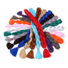 41 Inches Jumbo Crochet Braids Synthetic Long Pure Color Braiding Hair Extension
