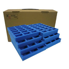 KR Multicase FoW Flames of war case & foam trays, carry 126 bases/vehicles ~FW1