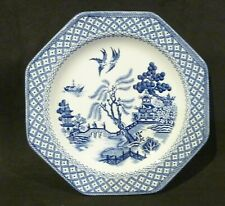 ROYAL STAFFORDSHIRE J&G MEAKIN ENGLAND WILLOW DINNER PLATE ,blue & white