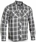 Under Armour 1236383 Covert Tactical Duty Black Gray Plaid Shirt NWT M $70