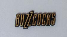 Buzzcocks British punk rock band PLASTIC logo Vintage music badge 1