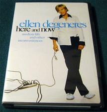 ELLEN DEGENERES, Here and Now, DVD, NEW (HBO SPECIAL, STAND-UP COMEDY)