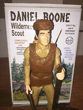 Marx Daniel Boone, Johnny West Reissue. With Box And Full Gear