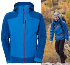 BNWT Men's Vaude 3 in 1 Nuuksio Hiking Jacket Blue Size Large