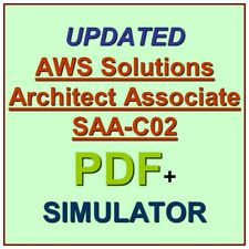 Amazon AWS Certified Solutions Architect Associate Exam SAA-C02 Test QA PDF+SIM