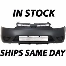 New Primered - Front Bumper Cover Replacement For 2006-2008 Honda Civic Coupe