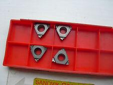 4 de Sandvik Rosca insertos r166.0l-16wh01-160 s10t P10 (R166 55 Bsw 16tpi