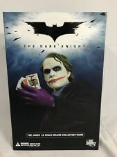 "DC Direct Dark Knight Heath Ledger Joker 1:6 Scale 12"" Action Figure New In Box"