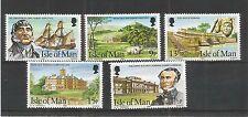 I.O.M 1980 KERMODE FAMILY SG,183-187 UM/M N/H LOT R224