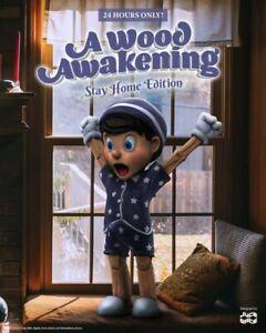 "Mighty Jaxx A Wood Awakening (Stay Home Edition) 10"" by Juce Gace Pinocchino"