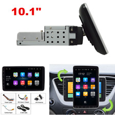"Quad Core 10.1"" Android 9.0 WiFi 1DIN Car Radio Stereo MP5 Player GPS Bluetooth"