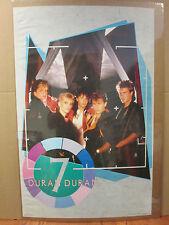 Vintage Duran Duran rock original Poster 1984 ORIG 5648