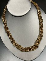 Vintage Boheniman Signed Premier  Designs  Seed Strand Long Necklace Boho Bronze