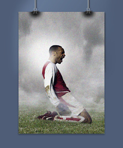 Thierry Henry 'Slide' Print