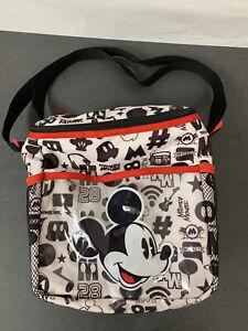 Diaper Bag Lunch Tote Small Disney Mickey White Music 28