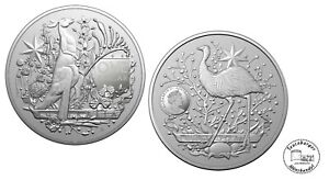 Australien 1 Dollar Coat of Arms  2021 1oz 999 Silber  * St / Bu *
